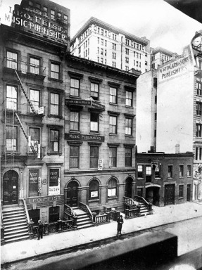 Tin Pan Alley - New York